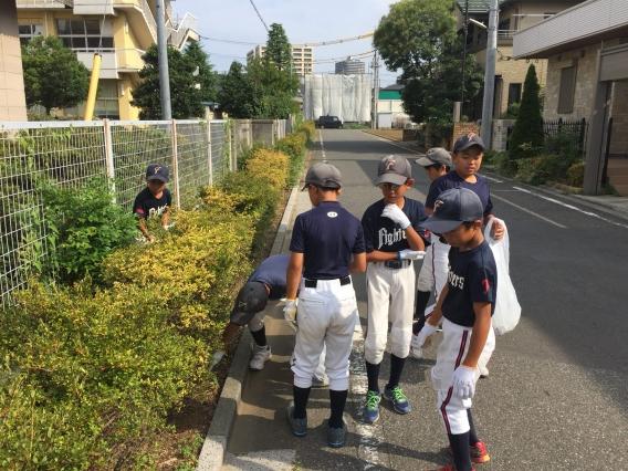 定期清掃活動(7月22日)