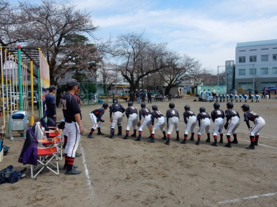市内大会 春季リーグ戦開幕【Aチーム】