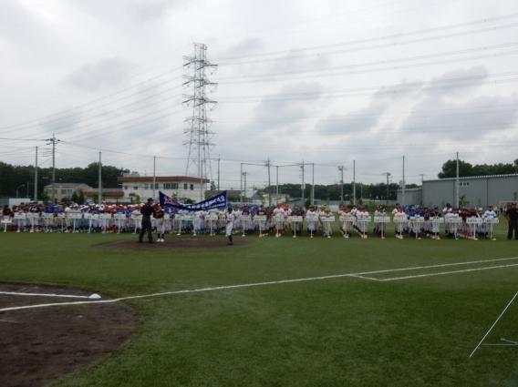 松本旗争奪少年野球大会 開会式(6月18日)